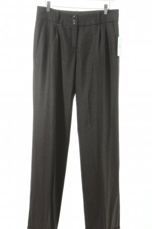 Gil Bret Wollhose dunkelbraun Business-Look