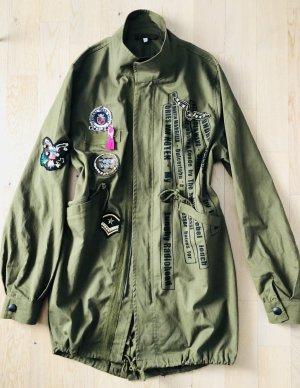 GIL Santucci Militär Jacke/Hemd Größe 38