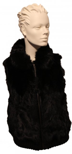 Fur Jacket black fur