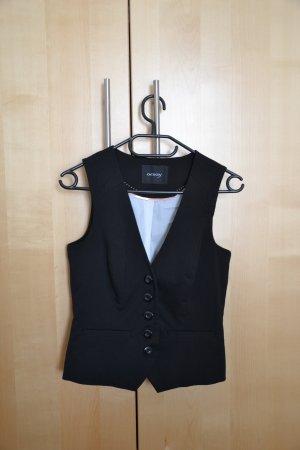 Gilet von Orsay in schwarz