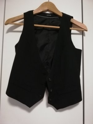 Pimkie Gilet de costume noir