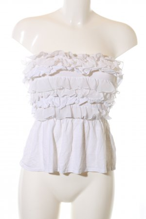 Gilly Hicks Bandeau top wit casual uitstraling