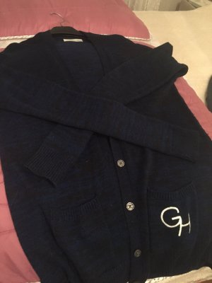 Gilly hicks Cardigan in blau / schwarz