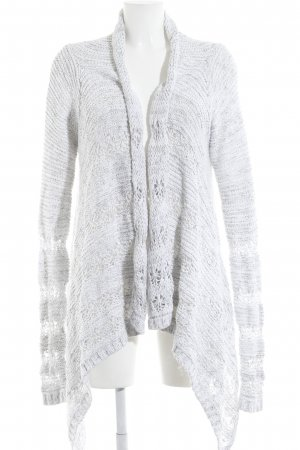 Gilly Hicks Cardigan weiß-hellgrau meliert Casual-Look