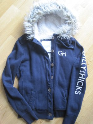 Gilly Hicks (Hollister) Kapuzenjacke mit Teddyfell