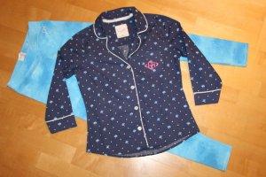 Gilly Hicks Pyjama light blue-blue mixture fibre