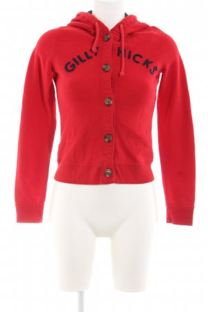 Gilly Hicks Hooded Sweatshirt red-black casual look
