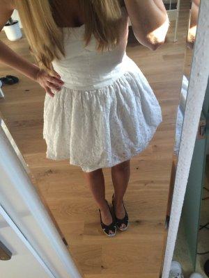 Gilly hicks Kleid mit Spitze weiß