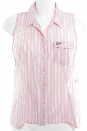 Gilly Hicks Short Sleeve Shirt striped pattern casual look