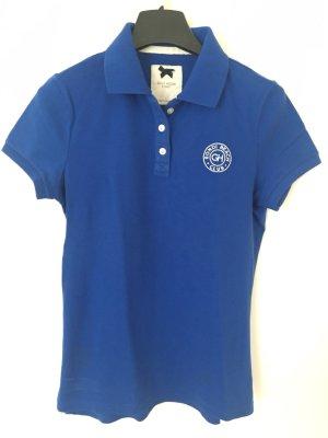 Gilly Hicks Camiseta tipo polo azul
