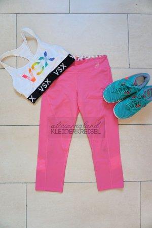 Gilly Hicks Sporthose 3/4 Mesh S pink