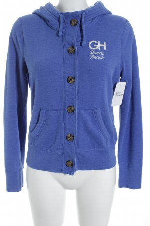 Gilly Hicks Sweat Jacket steel blue athletic style