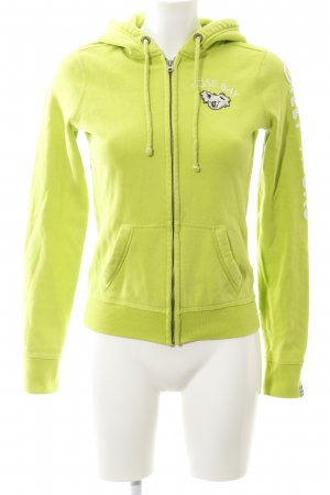 Gilly Hicks Sweatjacke wiesengrün Motivdruck Casual-Look