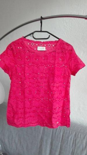 Gilly Hicks Sydney Shirt Spitze lachsfarben