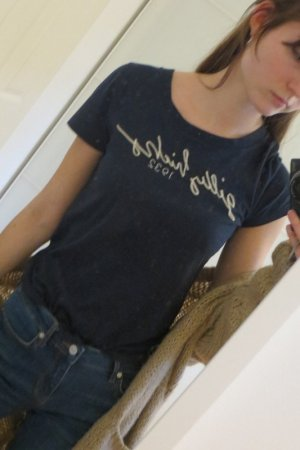Gilly hicks t-shirt dunkelblau