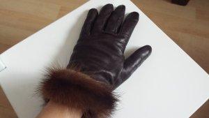 Gilmar Handschuhe mit Nerz Pelz