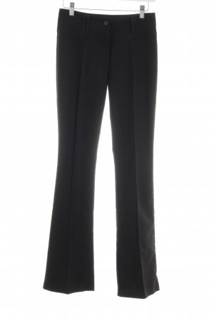Gin Tonic Bundfaltenhose schwarz Business-Look
