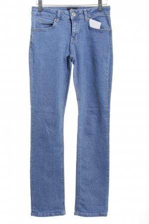 Gin Tonic Straight-Leg Jeans hellblau Street-Fashion-Look