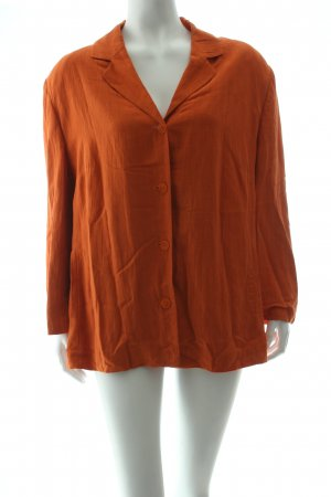 Gina B Long-Blazer orange