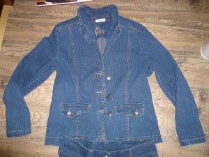 Gina Benotti Suit steel blue