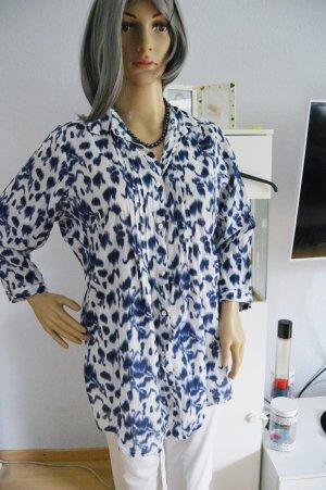 Gina Benotti 40/42 bluse batik blau