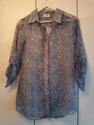 Gina Benotti Damenbluse Hemd 36/38 blautöne