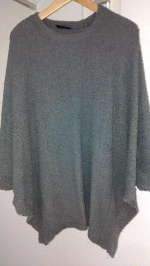 Gina Benotti Poncho grigio scuro-grigio Tessuto misto