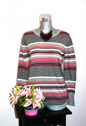 Gina Benotti Long Pullover gr.40/42 Strickpullover Streifen
