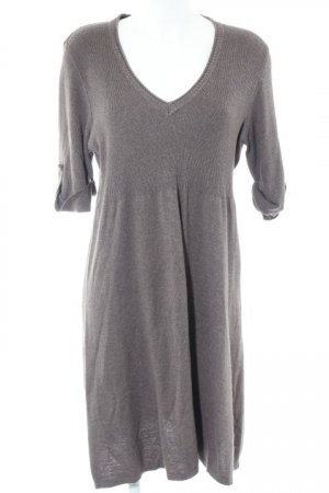 Gina Benotti Sweater Dress grey brown casual look