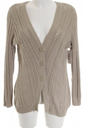 Gina Benotti Strickjacke beige Casual-Look