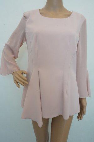 Gina Bacconi Blouse met lange mouwen stoffig roze