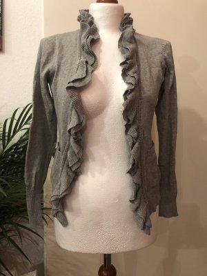 Gina Knitted Cardigan light grey-grey