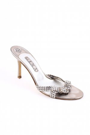 Gina High Heel Sandal silver-colored-bronze-colored elegant
