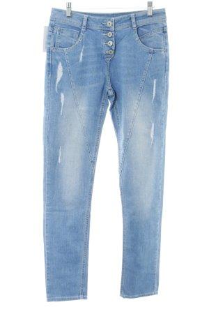 Gina High Waist Jeans blue casual look