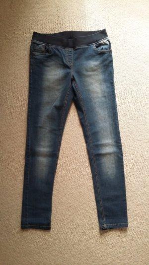 GINA, Jeggings, dunkelblaue Waschung Größe 40, neu