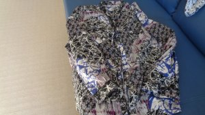 Gina Laura Cols de blouses multicolore viscose