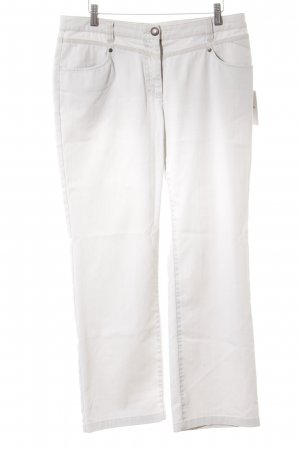 Gina Laura Boot Cut Jeans creme Casual-Look