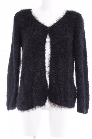 Gina Laura Cardigan schwarz Casual-Look