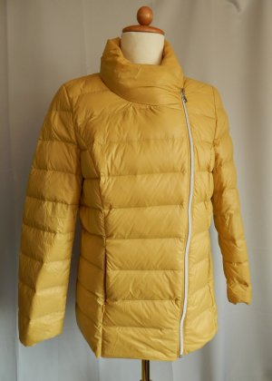 Gina Laura Down Jacket dark yellow mixture fibre