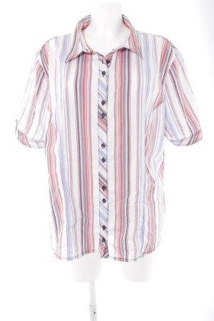 Gina Laura Short Sleeve Shirt striped pattern casual look