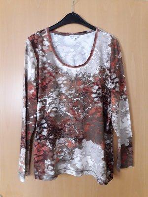 Gina Laura: Langarmshirt,fast dünner Pulli bunt Größe L