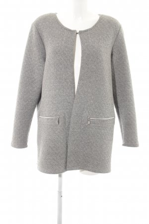 Gina Laura Lange Jacke grau Business-Look