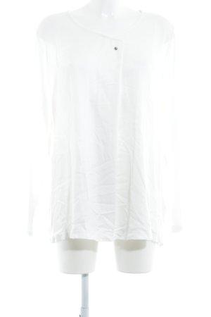 Gina Laura Oversized Bluse wollweiß Elegant