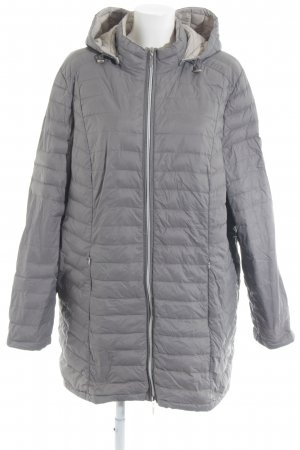 Gina Laura Quilted Jacket grey casual look