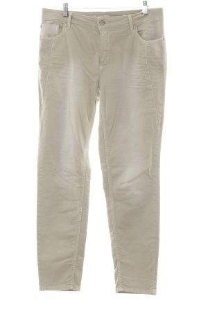 Gina Laura Stretch Trousers oatmeal casual look
