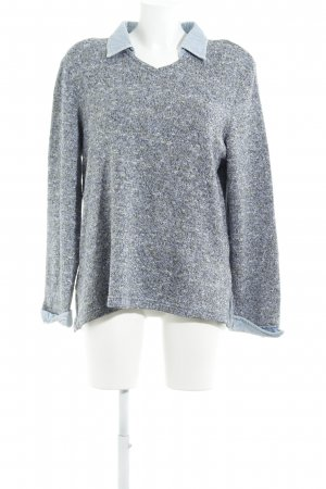 Gina Laura Strickpullover meliert Casual-Look