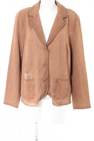 Gina Laura Sweatblazer braun Casual-Look