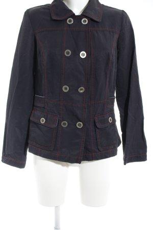 Gina Laura Between-Seasons Jacket dark blue casual look
