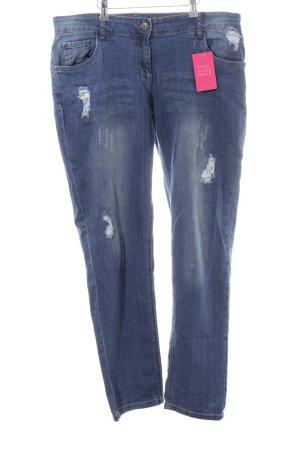 Gina Slim Jeans blau Casual-Look