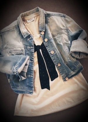 Basic topje zwart-beige
